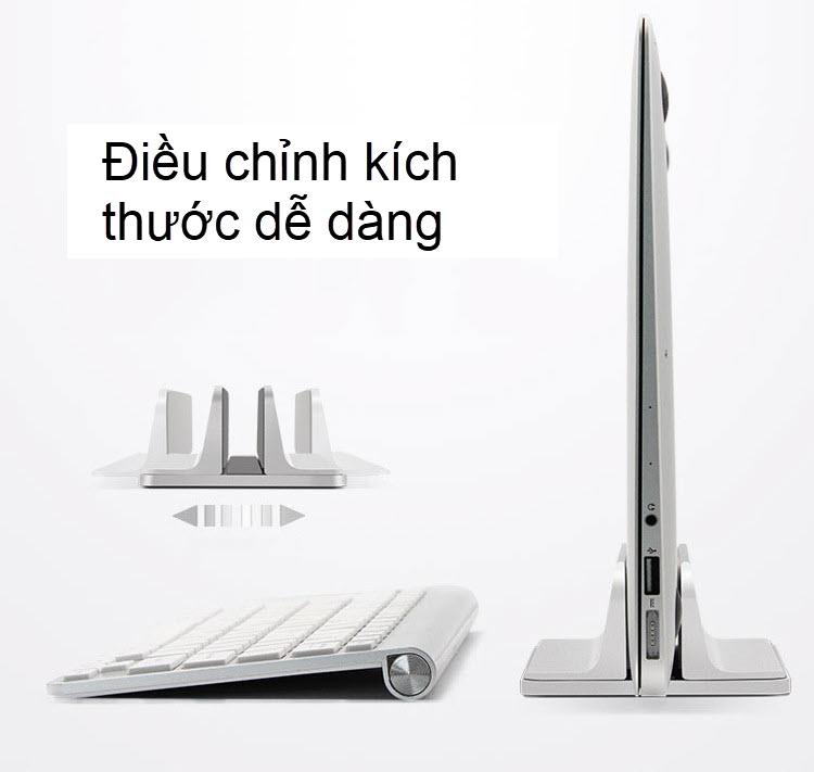 đế kẹp laptop đứng