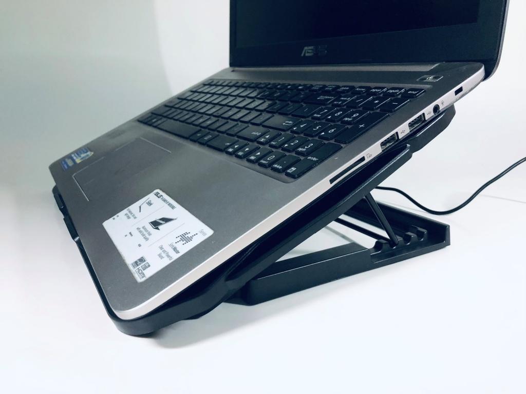 đế làm mát laptop 6 quạt đa năng