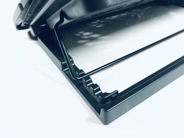 đế tản nhiệt laptop 6 quạt và 6 nấc đỡ