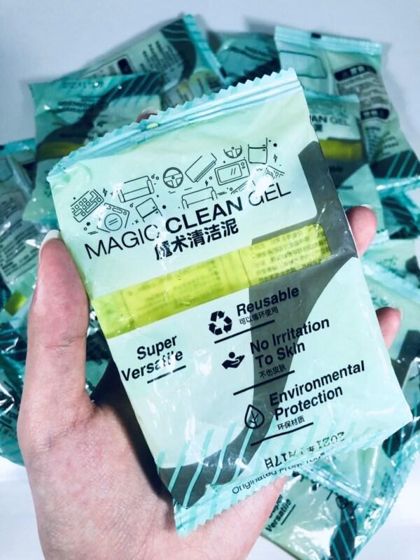 gói gel vệ sinh đa năng magic clean