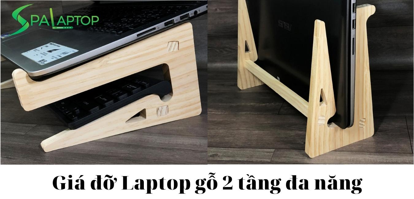 giá để laptop gỗ