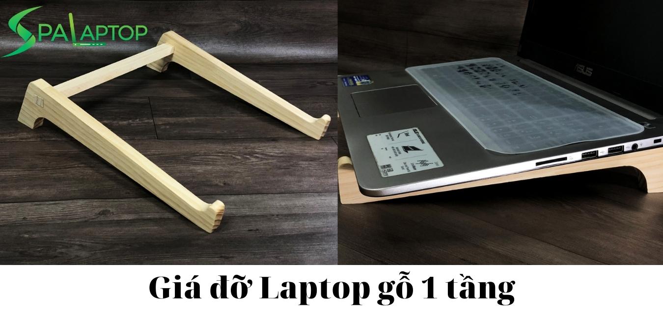 giá kê laptop gỗ