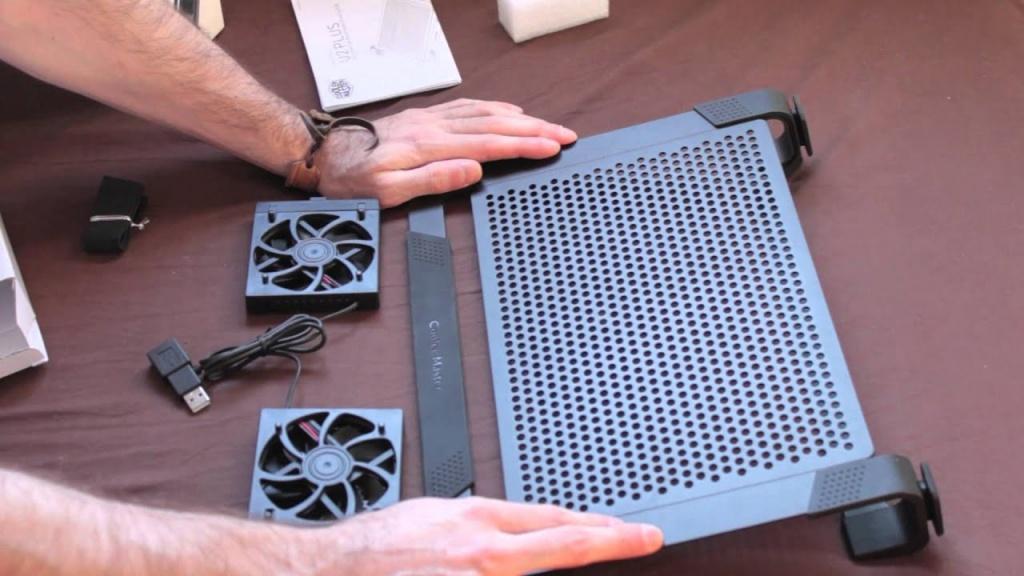 tản nhiệt laptop cooler master