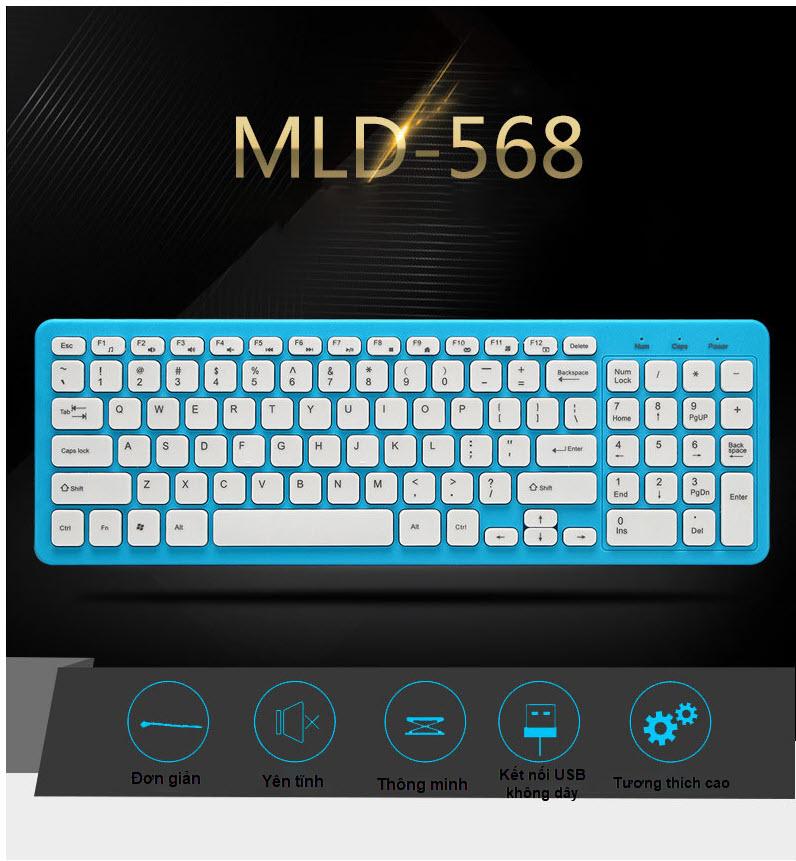 Bàn phím không dây MLD 568 5