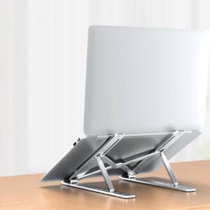 Giá đỡ laptop gấp gọn điều chỉnh 6 nấc hợp kim nhôm 13