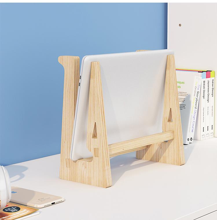 Giá đỡ laptop gỗ đa năng nguyên khối cao cấp tiện lợi 10
