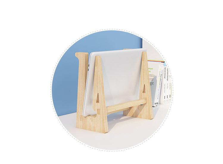 Giá đỡ laptop gỗ đa năng nguyên khối cao cấp tiện lợi 11