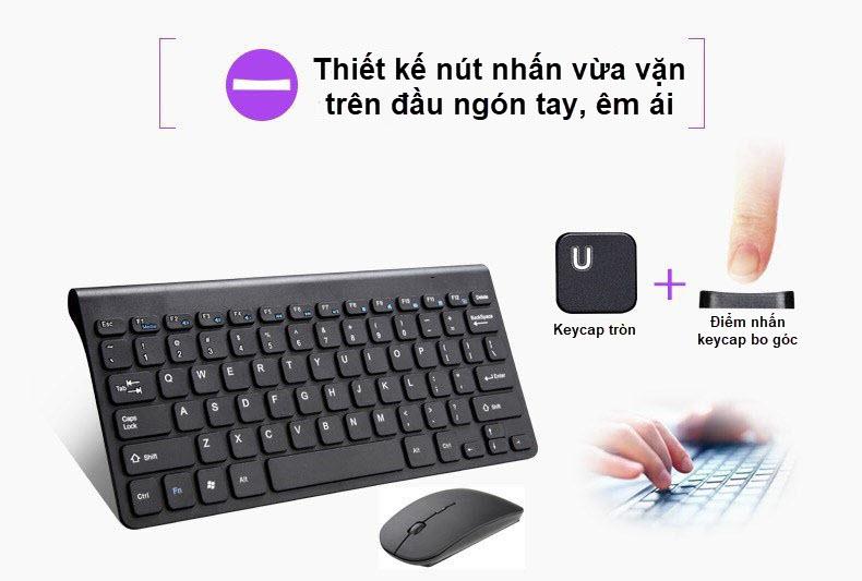 bàn phím và chuột không dây spalaptop