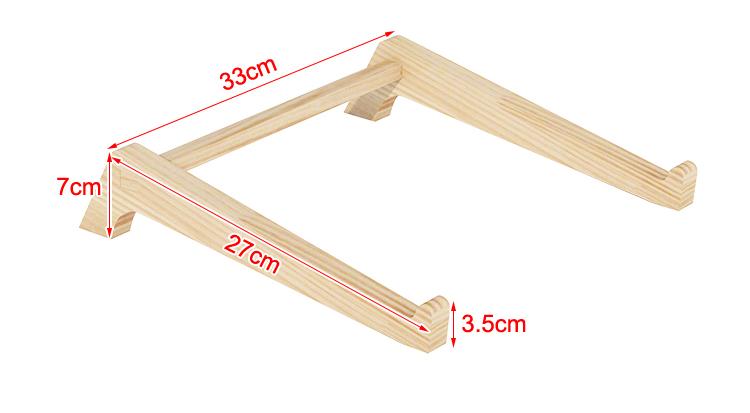 giá đỡ laptop gỗ siêu chắc 3