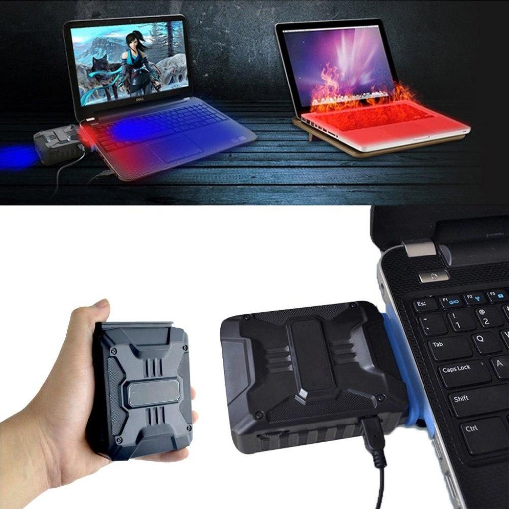 quạt tản nhiệt laptop hút hay thổi