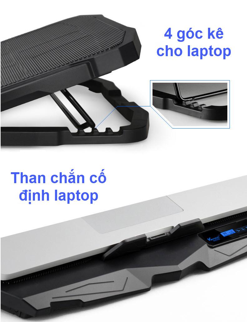 đế tản nhiệt laptop s18 4 quạt 1