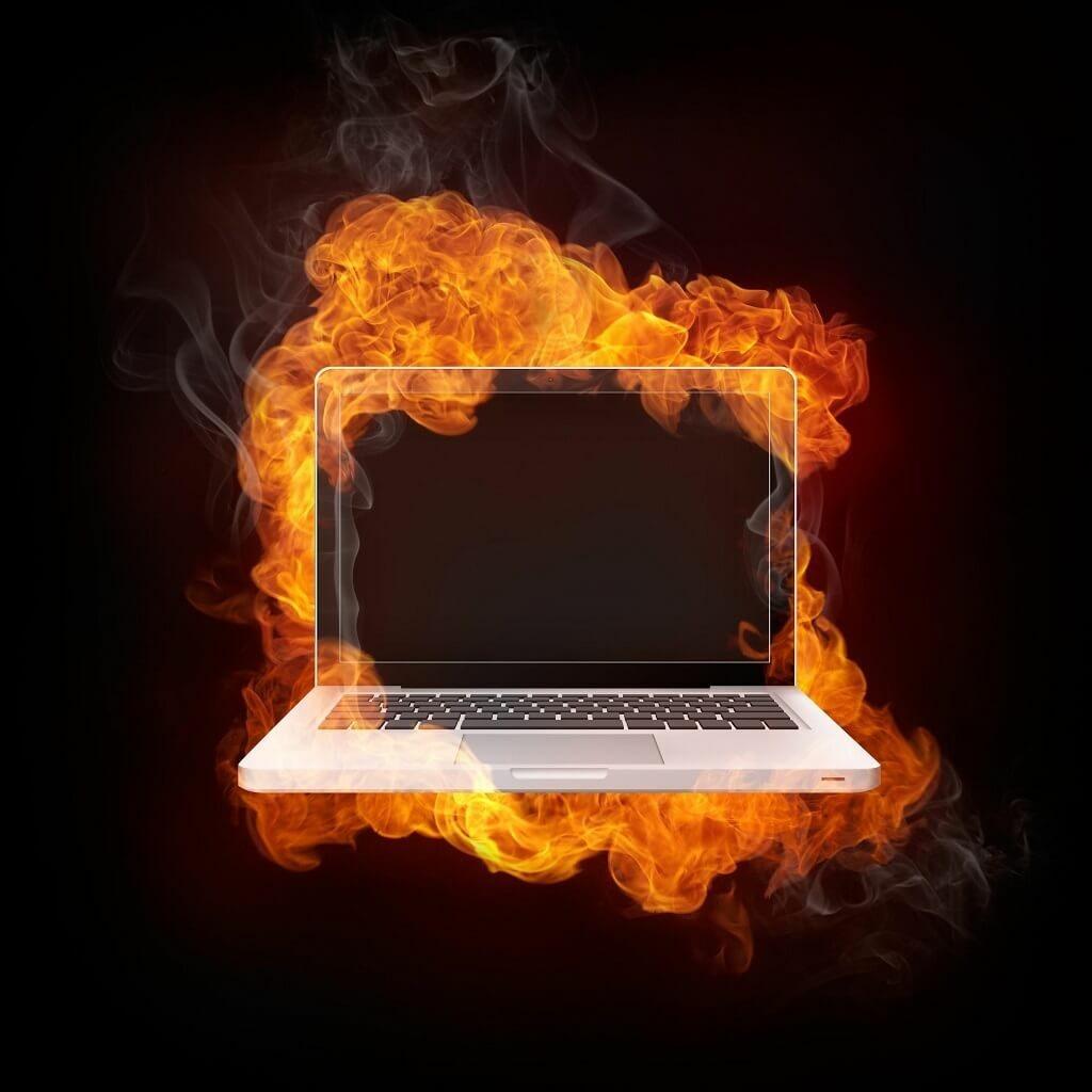 nhiệt độ laptop bao nhiêu