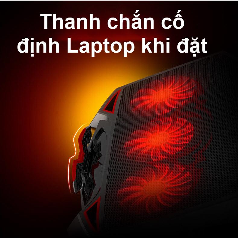 đế tản nhiệt laptop 3 quạt lớn 5