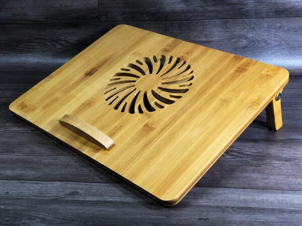 giá đỡ laptop gỗ điều chỉnh