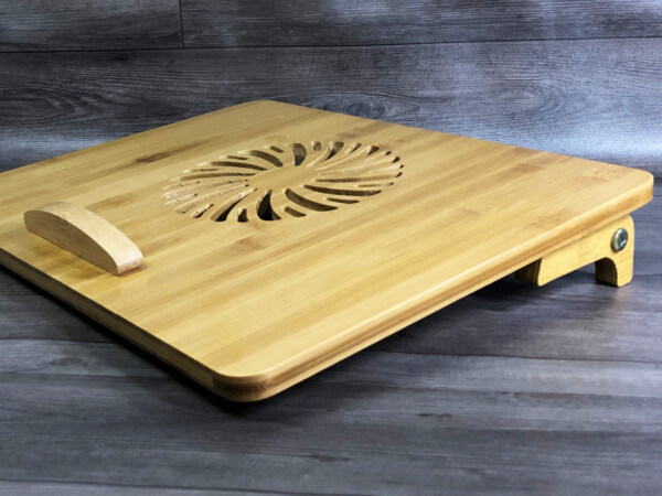 giá đỡ laptop gỗ tản nhiệt