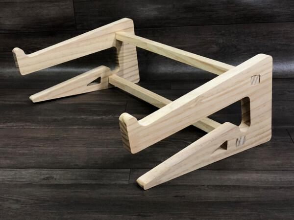 giá dựng laptop gỗ đa năng