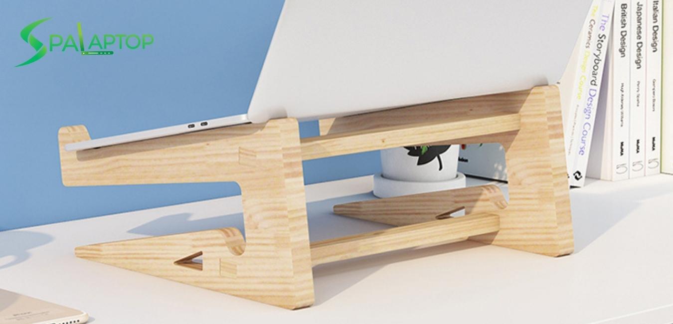 kệ để laptop bằng gỗ