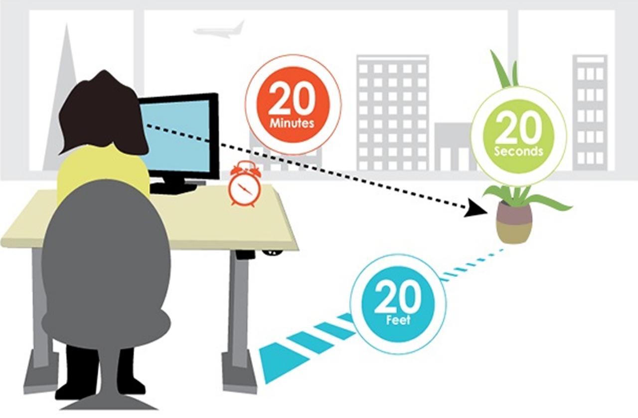 bảo vệ mắt khi sử dụng màn hình máy tính